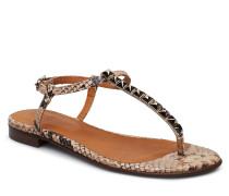 Shoes 8623 Flache Sandalen Rot