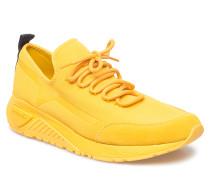 Skb S-Kby Stripe - Sneakers Niedrige Sneaker Gelb DIESEL MEN