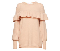 Finula Ruffle Pullover Knit Strickpullover Pink INWEAR