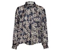 Zilmaiw Hilma Shirt Bluse Langärmlig Blau