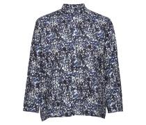 Trade Shirt Bluse Langärmlig Blau