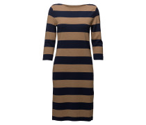O1. Striped Boatneck Dress