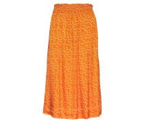 Fatna Knielanges Kleid Orange RODEBJER