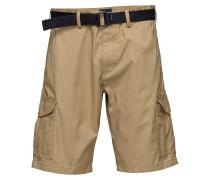 O2.Tp Relaxed Belted Utility Shorts Cargoshorts Beige GANT