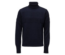 100% Wool Klemens Knitwear Turtlenecks Blau