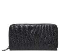 Day Plaiting Purse Bags Kreditkartenhalters & Wallets Wallets Schwarz DAY ET