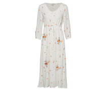 Lisa Dress Kleid Knielang Creme