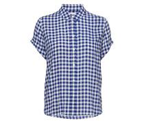 Majan Ss Shirt Aop 9942 Kurzärmliges Hemd Blau SAMSØE & SAMSØE