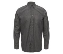 Langarm Hemd Hemd Business Grau SIGNAL