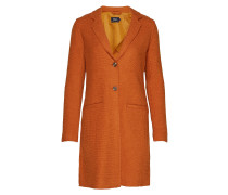 Onlnew Ella Wool Coat Cc Otw Wollmantel Mantel Orange