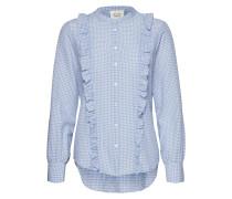 Leslie Shirt Langärmliges Hemd Blau