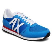 Man Woven Sneaker Niedrige Sneaker Blau ARMANI EXCHANGE