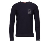 Longsleeve Tee In Twill Structured Jersey Quality With Chest
