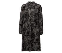 Dress Kleid Knielang Schwarz SIGNAL