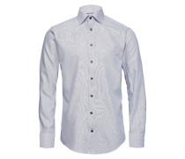 Navy Twill Hemd