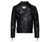 Leather Bikerjacke