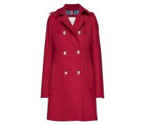 Madison Coat Wollmantel Mantel Rot TOMMY HILFIGER