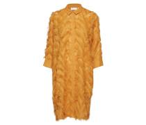 Safria Dress Kleid Knielang Gelb INWEAR