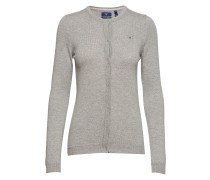 Superfine Lambswool Crew Cardigan