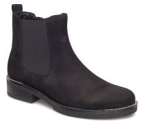 Boots Stiefeletten Chelsea Boot Schwarz