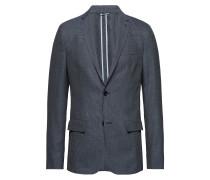 Unconstructred Textured Blazer Blazer Jackett Blau CALVIN KLEIN