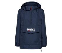 Tjw Tommy Popover Anorak Sommerjacke Dünne Jacke Blau TOMMY JEANS