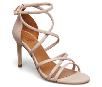 Sandals 8161 Sandale Mit Absatz Beige