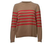 O1. Striped Cotton Crew