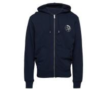 Umlt-Brandon-Z Sweatshirt Hoodie Pullover Blau DIESEL MEN