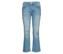 Irina 241 Ripped Slim Jeans Blau
