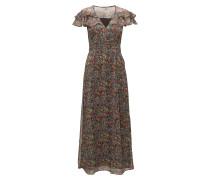 Tjw Maxi Dress S/S 32 Maxikleid Partykleid Bunt/gemustert TOMMY JEANS