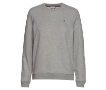 Heritage Crew Neck Sweatshirt Langärmliger Pullover Grau