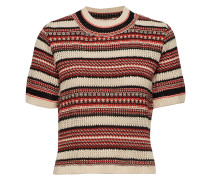 Illisaiw Pullover Tshirts & Tops Knitted T-Hemd/tops Bunt/gemustert INWEAR