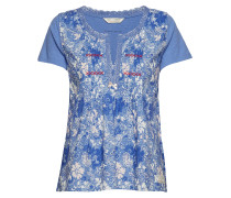 Blossom Boss Top Tshirt Top Blau ODD MOLLY