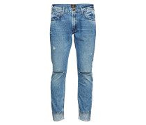 Luke Cropped Slim Jeans Blau LEE JEANS