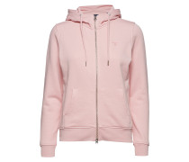Tonal Shield Full Zip Hoodie Sweatshirts & Hoodies Hoodies Pink
