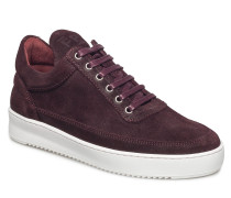 Low Top Ripple Waxed Suede