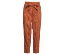 Seth Carrot Pants Hose Mit Geraden Beinen Orange INWEAR