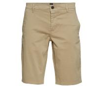 Schino-Slim Shorts Bermudashorts Shorts Beige BOSS CASUAL WEAR