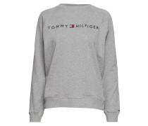Track Top Ls Langärmliger Pullover Grau TOMMY HILFIGER