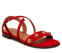 Sandals 8625 Flache Sandalen Rot