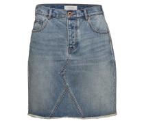 Seasonal Denim Skirt - Customized Blauw