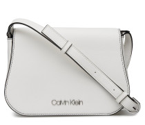 Slide Saddle Bag Bags Small Shoulder Bags/crossbody Bags Silber CALVIN KLEIN