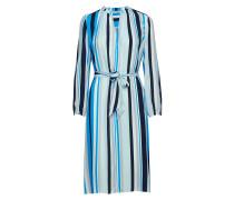 Elva Ls Dress Aop 8083 Kleid Knielang Blau
