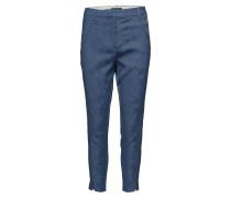 Angelie 325 Split, Ball Blue Jacquard, Pants