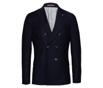 Wool Structure Slim Fit Blazer