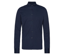 Shirt, Long Sleeve, Shirt Cuff Hemd Casual Blau
