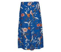 Ally Skirt Knielanges Kleid Blau CREAM