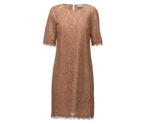 Ginny New Dress Kleid Knielang Braun INWEAR