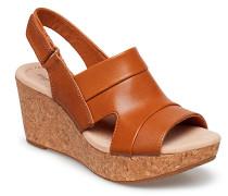 Annadel Ivory Schuh Wedge Braun CLARKS